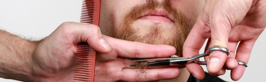 Specialist in beard design
