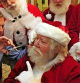Santa haircut