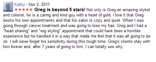 Greg is beyond 5 stars...